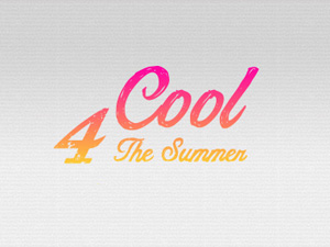 Logo Cool 4 The Summer