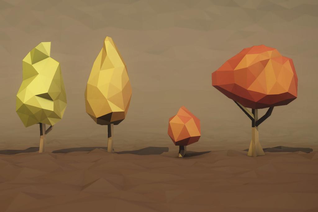 polygone arbres